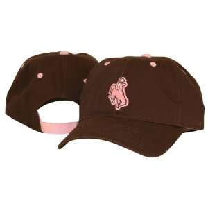 University of Wyoming Cowboys Ladies Pink and Brown