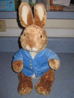 Original Peter Rabbit Beatrix Potter Plush Toy Doll