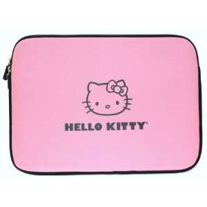 Hello Kitty Pink Neoprene Laptop Case 14 + Free Tote Bag