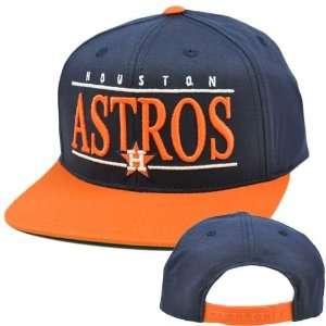 MLB American Needle Nineties Twill Hat Cap Snapback Flat Bill Houston