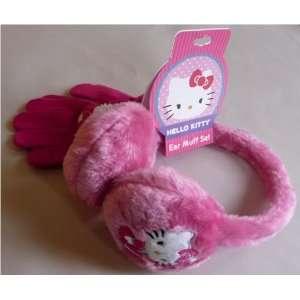 Hello Kitty Ear Muff Set