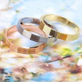 Vogue Set Rings 18K Color Gold Filled Womens Rings R083 9#