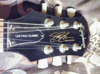 EPIPHONE by GIBSON LES PAUL   SLASH SIGNATURE SNAKEPIT  MODIFIED