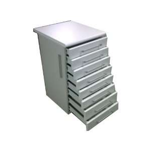 Cd/8 :Clinic Cabinet with 8 Drawers   Dental Medical Lab