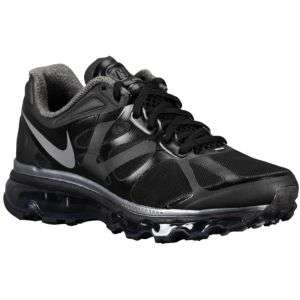 Nike Air Max + 2012   Womens   Running   Shoes   Black/Metallic Cool