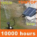 Solar Power Fountain Water Pump Garden Plants Watering