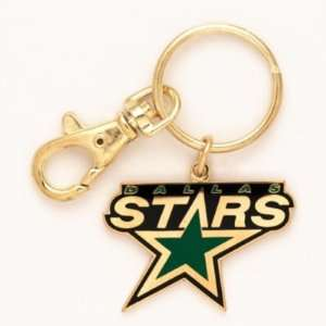 DALLAS STARS OFFICIAL LOGO KEYCHAIN: Sports & Outdoors