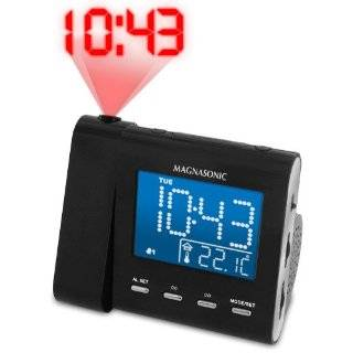 Alarm, Auto Time Set/Restore, Temperature Display, and Battery Backup
