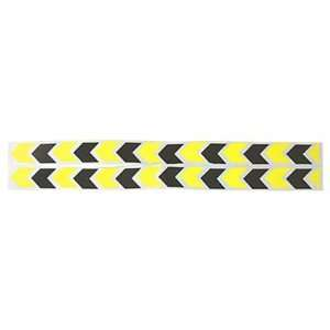 Pairs Car Arrows Pattern Tricolored Self Adhesive Reflective Stickers