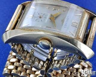 Fine & Rare Longines Hour Glass 14K Y/G Watch |