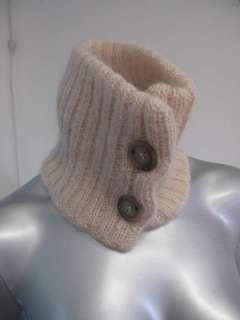 Mara Ballet Pink Sheer Woven Sleeveless Top/Button Down Sweater Set L