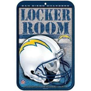 NFL San Diego Chargers Sign   Locker Room Sports