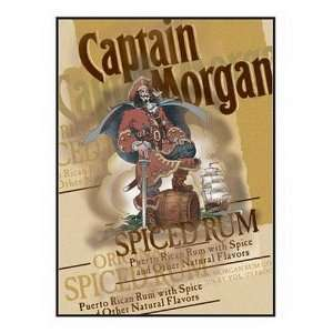Licensed Captain Morgan Original Label Neon Light Box