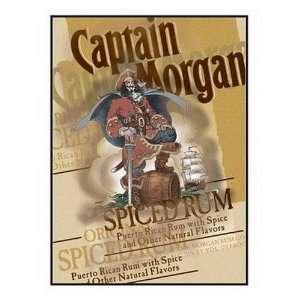 Licensed Captain Morgan Original Label Neon Light Box