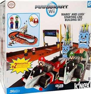 NEX MARIO & LUIGI STARTING LINE BUILDING SET   KNEX   LEGO   MARIO