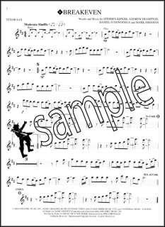 Popular Hits Instrumental Play Along Tenor Sax Saxophone Pop Music