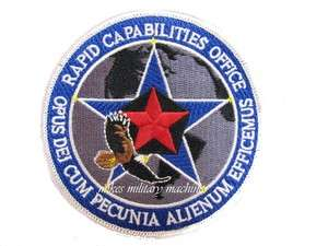 USAF BLACK OPS AREA 51 RAPID CAPABILITIES OFFICE DEPT OF DEFENSE AIR