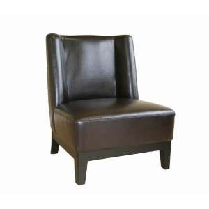 Full Leather Club Chair by Wholesale Interiors