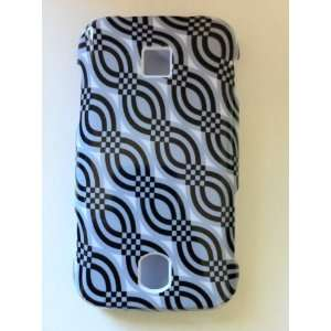 Huawei Ascend M860 Grey and Black Plaids with Chinese Pigtail / Loops
