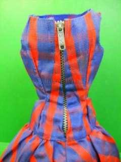 1960s Vintage Barbie Doll Beau Time #1651 Dress HTF