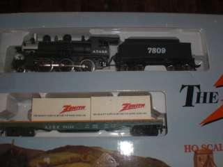 Santa Fe 2 6 0 Steam Locomotive Train Set ZENITH new in box