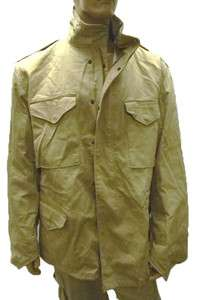 Alpha Industries M65 M 65 Field Jacket Coat Khaki Army Military