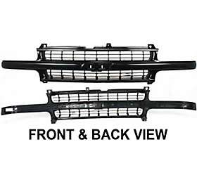 Grille Assembly New Black Chevy Suburban 12335634 Chevrolet Tahoe 2006