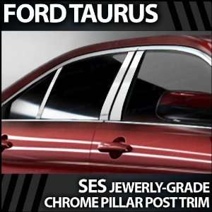 2008 2009 Ford Taurus 6pc. SES Chrome Pillar Trim Covers