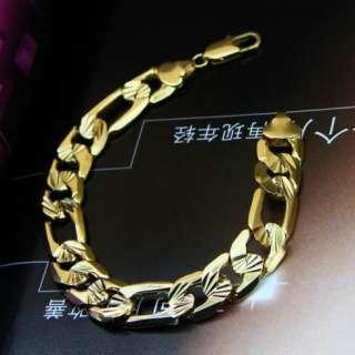 Boutique Fashion 18k Yellow gold filled Bracelets 8.3 chain