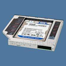 2nd HDD Hard Drive Caddy for 12.7mm Universal CD / DVD ROM Optical Bay