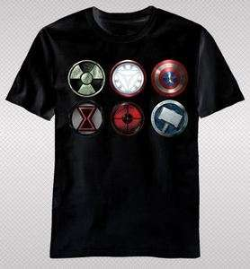 The Avengers Movie Captain America IronMan Hulk Thor Hawkeye Logo