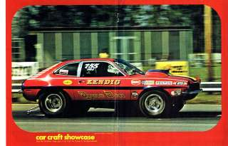 IHRA AHRA Drag Racing Ford Pinto Pro Stock Dyno Don Nicholson