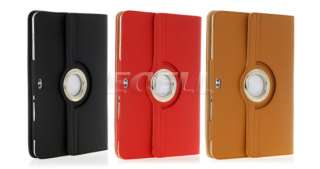 LEATHER FOLIO CASE & STAND FOR SAMSUNG GALAXY TAB 10.1 P7510