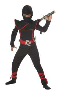New Stealth Ninja Child Halloween Costume C00228