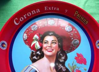 New 1950s Retro Deco Image Corona Beer Tray