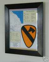 1st Cavalry Division (Airmobile), Vietnam, Framed