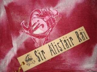 SIR ALISTAIR RAI PLUM PINK PRAYER SCARF HEAD WRAP NEW