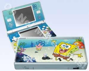 Nintendo DS Lite Skin Vinyl Decal Spongebob Squarepants
