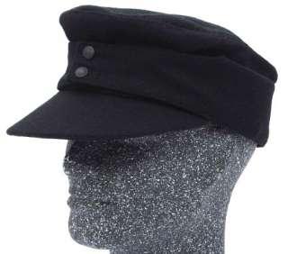 Winter ARMY Cadet M43 Hat Patrol Flat Top Earflap Gray