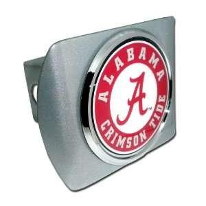 University of Alabama Brushed Silver with Chrome Crimson Tide Seal