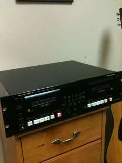 Professional Dual Cassette Deck VGC w/ Manual Free Shipping