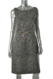 Tahari ASL NEW Black Casual Dress BHFO Sale 8