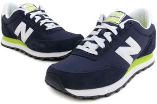 New Balance 501 Series WL501NVG New Women Navy Lime Green Classic