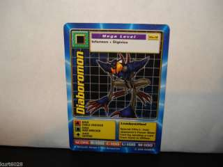 BANDAI DIGIMON CARD MO 12 DIABOROMON DIGIMON THE MOVIE