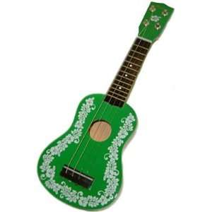 Flower Mini Ukulele Hawaiian Hawaii Green 30076 Musical Instruments