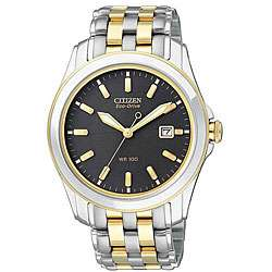 Citizen Mens Eco Drive Stainless Steel Two tone Watch