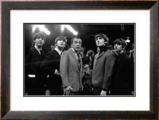 The Beatles and Ed Sullivan, 1965 Poster at AllPosters