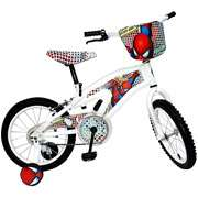 16 Boys Spider Man Bike