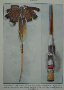 NATIVE AMERICAN INDIAN BOOK Plains Artifacts WEAPONS ART TRIBE LEGENDS