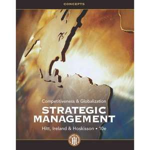 Strategic Management Concepts Competitiveness and